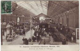 Exposition Internationale D'électricité Marseille 1908 Intérieur Du Palais De L'énergie - Expositions