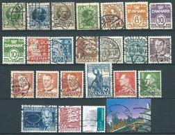 Danemark  - Lot De Timbres - Set Of Stamps - Voir/see Scan - 1 - Danemark