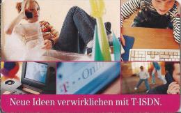 Telefoonkaart.- Duitsland. Telefonkarte 12 DM. Neue Ideen Verwirklichen Mit T-ISDN. Mehr Chancen Für Alle. - P & PD-Reeksen : Loket Van D. Telekom