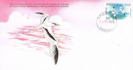 10858. Tarjeta Suvenir ROSEAU (Dominica) 1979. Marine Wild Life - Dominica (1978-...)