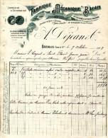 82.TARN ET GARONNE.GRISOLLES.FABRIQUE MECANIQUE DE BALAIS EN TOUS GENRES.A.DEJEAN & Cie. - Non Classés
