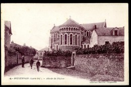 Cpa Du 44 Bouguenais Abside De L' église       AO51 - Bouguenais