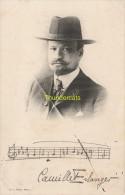 CPA CELEBRE MUSICIEN SIGNATURE  CAMILLE ERLANGER  EDIT. GU L. MUSIC. PARIS - Chanteurs & Musiciens