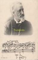 CPA CELEBRE MUSICIEN SIGNATURE  TH. DUBOIS EDIT. GU L. MUSIC. PARIS - Chanteurs & Musiciens