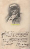 CPA CELEBRE MUSICIEN SIGNATURE  CHARLES LECOCQ EDIT. GU L. MUSIC. PARIS - Chanteurs & Musiciens