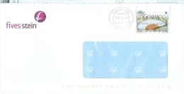 Spanien Bilbao TGST 2012 Briefmarke B Fächer Fives Stein - 1931-Heute: 2. Rep. - ... Juan Carlos I