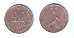 Paraguay 20 Centavos 1903 - Paraguay