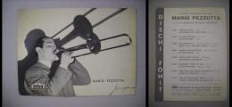 Cartolina/postcard MARIO PEZZOTTA Con Autografo Stampato. Dischi FONIT Fonodisco Italiano Trevisan MILANO - Non Classés