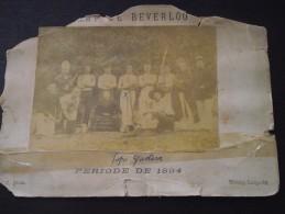 """BOURG-LEOPOLD - CAMP De BEVERLOO (Belgique) - Soldats, Dont """" Papa Gustave """" - Militaires Belges - Période De 1894 - War, Military"""