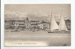Suisse - GENEVE - Le Kursaal Et Le Jura  - 1913 - GE Genève