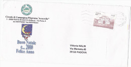 Padova ITALY COVER Illus NEW YEAR 2000 GREETING SANTA CLAUS  Christmas Stamps - Christmas