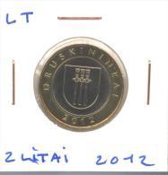 """2 Litai 2012 Lituanie / Lithuania """"Druskinkai"""" UNC / Non Circulated - Lituania"""
