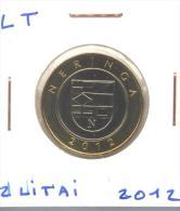 """2 Litai 2012 Lituanie / Lithuania """"Neringa"""" UNC / Non Circulated - Lithuania"""