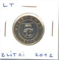 "2 Litai 2012 Lituanie / Lithuania ""Birstonas"" UNC / Non Circulated - Lituanie"