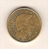 LUXEMBOURG  2011 / 1 Pièce De 50 Centimes / 0.50 Cts /  De Circulation / Impeccable - Luxemburg