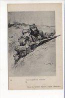Grande Guerre 1914/1918 / Les Conseils De L'Ancien / Dessin Georges Scott - War 1914-18
