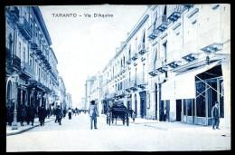 Cpa  Italie Taranto -- Via D´ Aquino  AO52 - Taranto