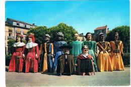 ES-1389  BURGOS : Camparsa De Gigante Y Gigantillos - Burgos