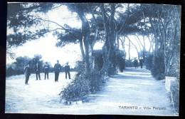 Cpa  Italie Taranto -- Villa Peripato    AO52 - Taranto