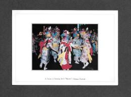 JAPAN - JAPON - NEBUTA FESTIVAL - A SCENE OF DANCING GIRLS HANETO -  EXCELLENT COLOR PHOTOGRAPH - Japon