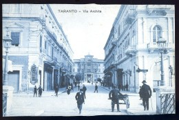 Cpa  Italie Taranto -- Via Archita   AO52 - Taranto
