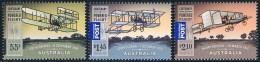 Australie - Centenaire Du Premier Vol En Avion Motorisé En Australie 3228/3230 ** - 2010-... Elizabeth II