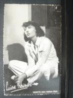 AF. CP. 119. Luise Rainer - Künstler