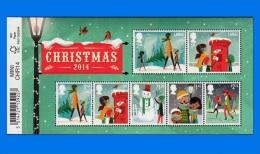 GB 2014-0048, Christmas, MNH M/S - Blocks & Miniature Sheets