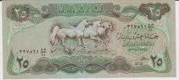 Iraq p.72  25 dinars 1981 unc
