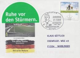 GERMANY 2008 WORLD  CUP  SWITZERLAND 1954  POSTMARK - 1954 – Suiza