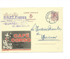 Publibel Obl. N° 2028 ( Café CORSO, Tout L'arôme Des Tropiques) Obl: Quaregnon 20/10/1964 - Publibels