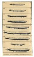 ORIGINAL NEWSPAPER PHOTO FROM ´DEUTSCHE FLUGILLUSTRIERTE´ 1933 * ZEPPELIN LZ1 DIFFERENT TYPES
