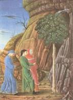 CT-N-00564- DANTE-LA DIVINA COMMEDIA-URB. LAT. 365 FOL. 160 R- BIBLIOTECA VATICANA - Pittura & Quadri