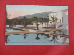 California> Santa Barbara   Monticetto Residence   Hand Colored    ref 1598