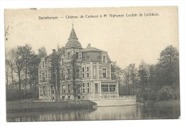 Carte Postale - DESTELBERGEN - Kasteel - Château De Cerbust à Mr A. C. De Lichtbuer - CPA  // - Destelbergen