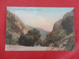 California> Caviota Pass near Santa Barbara      Hand Colored    ref 1598