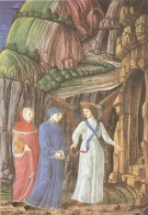 CT-N-00567- DANTE-LA DIVINA COMMEDIA-URB. LAT. 365 FOL. 132 V -BIBLIOTECA VATICANA - Pittura & Quadri