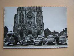 36 CHÂTEAUROUX AUTO-ECOLE Du BERRY Moniteur Gilbert GUENNET UNIQUE Sur Le SITE Saviem 203 Peugeot Dauphine 4 CV Renault - Chateauroux