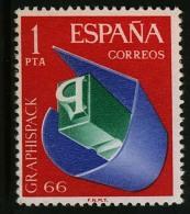 Spanje 1966  - Michel  1597**- POSTFRIS - NEUF SANS CHARNIERES - MNH - POSTFRISCH- Catw 0,1€ - 1961-70 Nuevos & Fijasellos