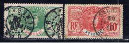 SN+ Senegal 1906 Mi 33-34 Faidherbe - Oblitérés