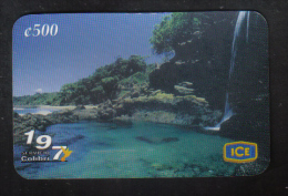 COSTA RICA - ICE PHONECARD  (  COLIBRI  PHONECARD )  USED 2002