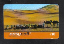 BELGIUM  - EASY CALL  PHONECARD  (  10 EUROS  PHONECARD ) LIMITED EDITION USED 2000s - Belgio