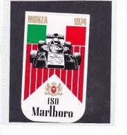Sticker Marlboro - 1974  Monza - Automovilismo - F1