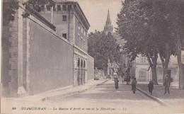 DRAGUIGNAN ( 83 ) La Maison D'Arrêt Et Rue De La Republique - Draguignan