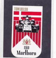 Sticker Marlboro - 1974  Tom Belso - Automovilismo - F1