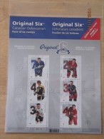 2014 Canada Hockey NHL Player Defencemen Pane Of 6 MNH - 1952-.... Regno Di Elizabeth II