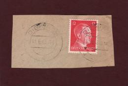 712 De 1941/43 - DIEKIRCH - LUXEMBOURG - Cachet Du  11-6-1943 - Occupation Allemande Par Le 3 ème Reich - 1940-1944 Occupation Allemande