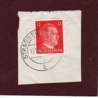 710 De 1941/43 - STRASBOURG - STRASSBURG. 67. FRANCE - Cachet Du  13-10-1943 - Occupation Allemande Par Le 3 ème Reich - Guerre De 1939-45