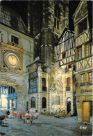 ROUEN - Le Gros Horloge - Rouen