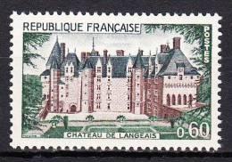 FRANCE  - 1968 - Yvert  1559 ** - Château De Langeais - France